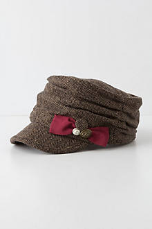 Folded Tweed Newsboy