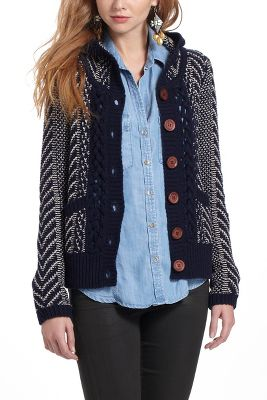 Sion Hooded Cardigan