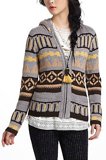 Fairisle Hooded Sweater