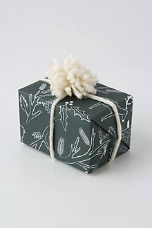 Good Tidings Wrapping Paper, Pine