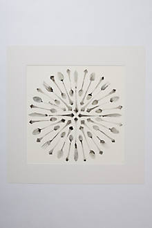Circle Of Cutlery by Bridget Davies