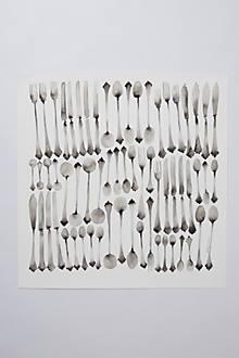 Haphazard Cutlery by Bridget Davies