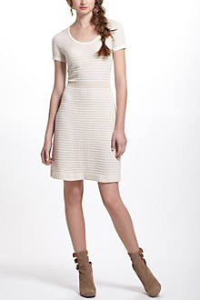 Gilt Grid Sweater Dress