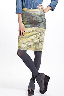 Terrain Pencil Skirt