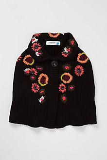 Poppy Applique Capelet