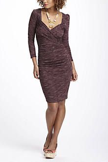 Cross-Front Jersey Dress, Petite