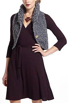 Wooly Crop Vest