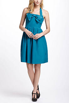 Bowed Halter Dress