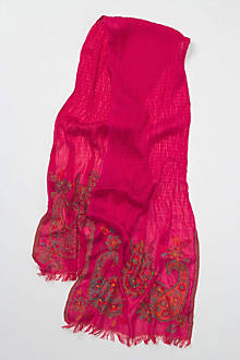 Adorned Paisley Scarf