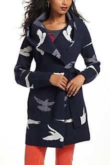 Morning Birds Sweatercoat