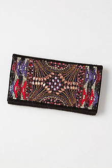 Sequined Alva Clutch