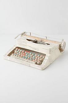 Vintage Paper Typewriter