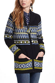 Batley Fairisle Sweatercoat