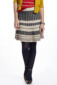 Vermatt Flounced Sweater Skirt