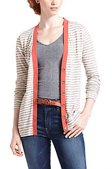 Trim Pop Cardigan