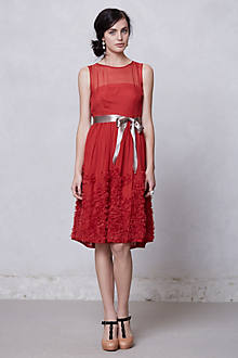 Caridad Ruffled Dress