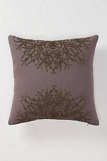 Beaded Visage Pillow