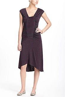 Pintucked Pleats Dress