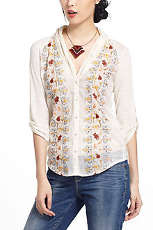Naima Embroidered Buttondown