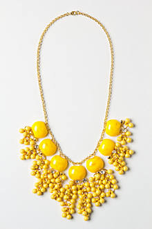 Lemon Zest Confetti Necklace