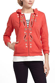 Fary Embroidered Hoodie