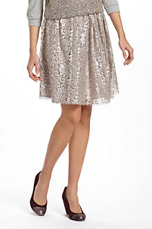 Metallic Tulle Skirt