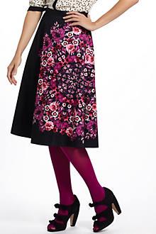 Crystallized Fuchsia Skirt