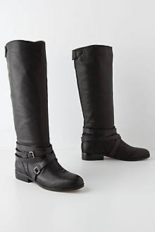 Banded Riding Boots