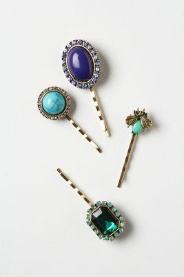 Muzetta Cameo Hairpins