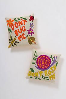 Don't Bug Me Pillow Set