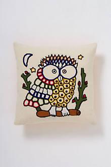 Pop Art Owl Pillow