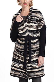 Cinderstripe Sweatercoat