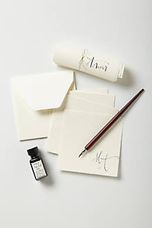 Quill & Scroll Calligraphy Set