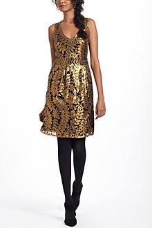 Goldleaf Cocktail Dress