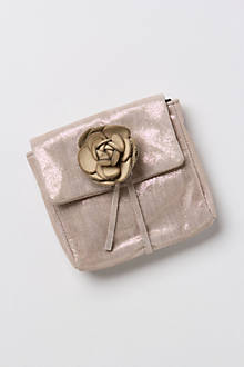 Tea Rose Coin Purse