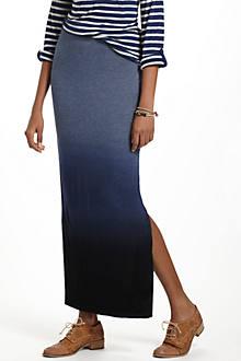 Dipped Chroma Maxi Skirt