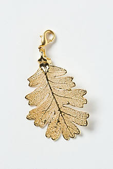 Shimmered Leaf Collector's Charm