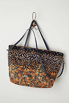 Fluttered Monarch Tote