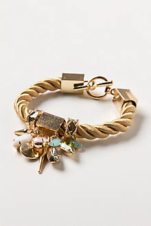 Roped Charms Cuff