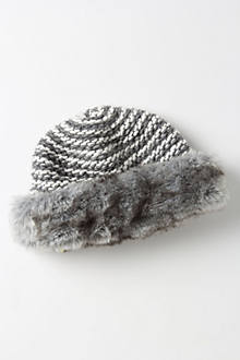Textured Fur Cloche