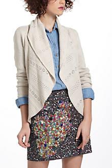 Eyelet Circle Sweater