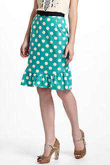 Dotty Trumpet Skirt