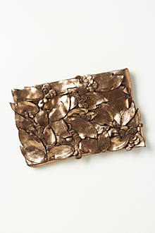 Varnished Foliage Clutch