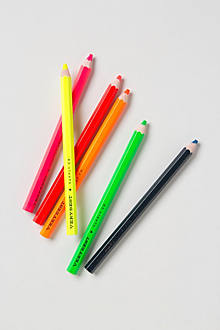Fluorescent Pencil Set