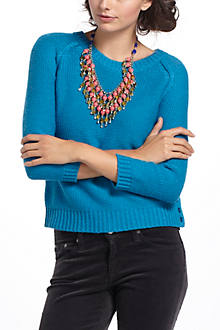 Marled Button Sweater