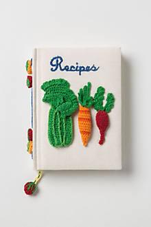 Serve & Tell Crocheted Recipe Journal