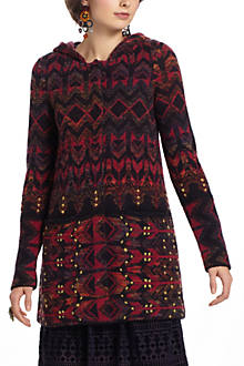 Constellation Jacquard Sweatercoat