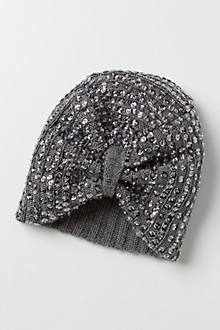 Cozy Sequined Turban