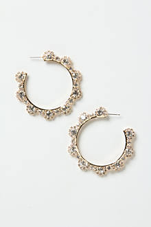 Crystallized Hoops