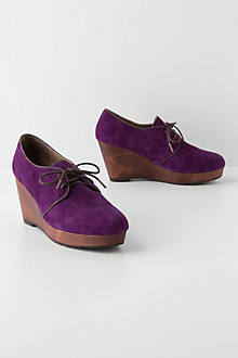 Stina Wedged Oxfords